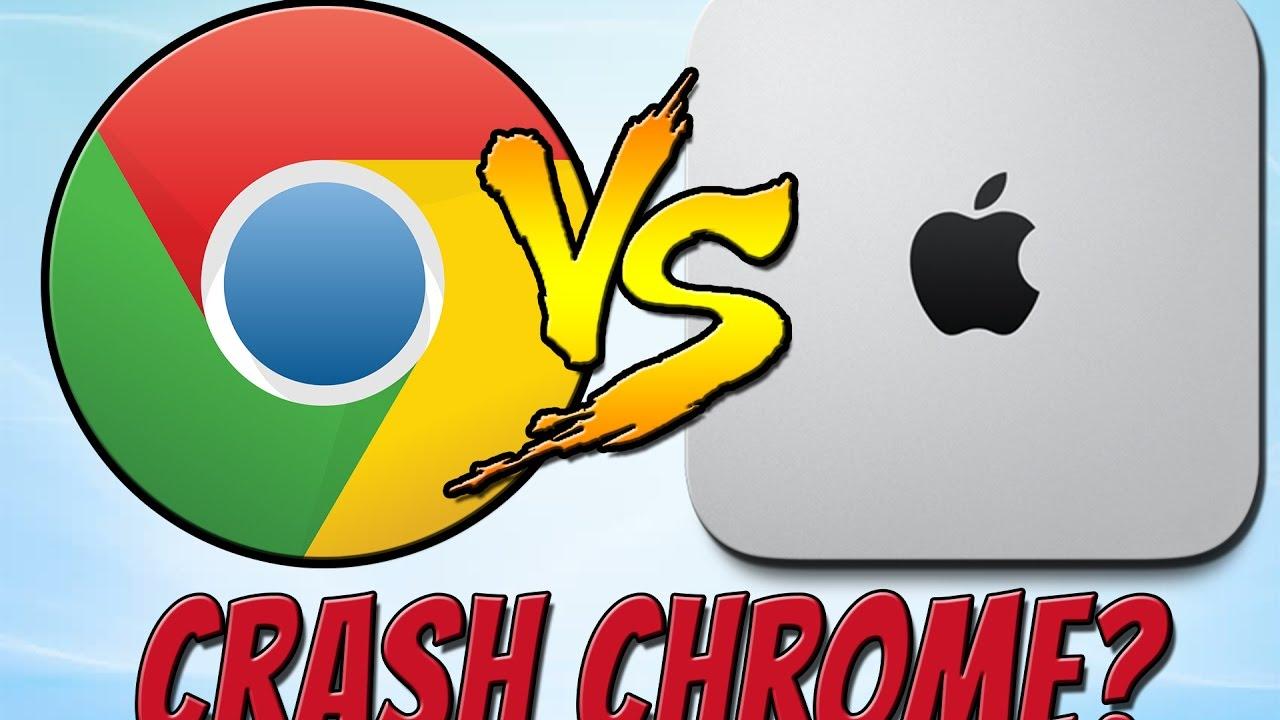 Can You Crash Google Chrome On A Mac Mini? | Trying To Crash Chrome On Mac!