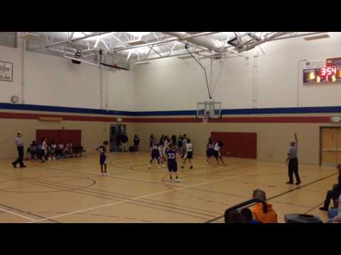 Ally Gough Highlights vs Eastbrook Academy February 5, 2016