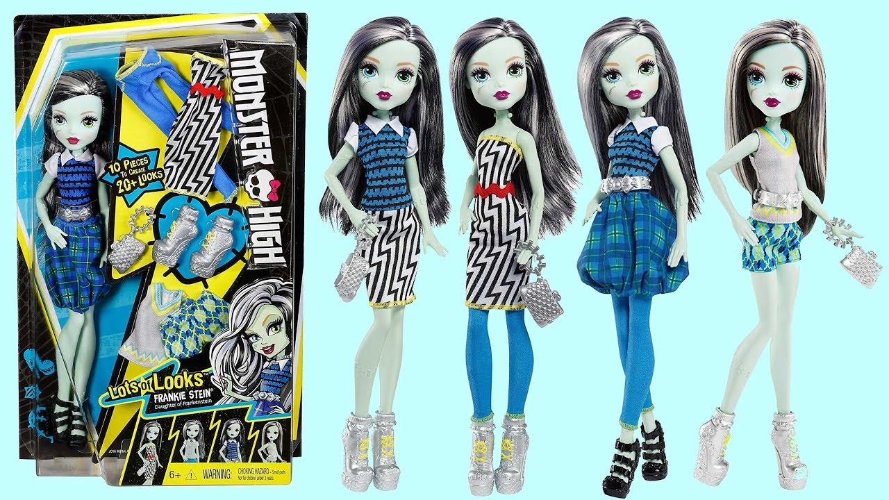 Lots Of Looks Frankie Stein Monster High Review Youtube