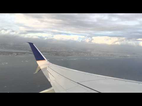 United Airlines Taking Off San Juan, Puerto Rico!