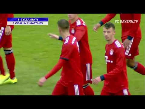 Chris Richards Assist - AEK Athens 0-4 Bayern München (U19 UEFA Youth League) - 10/23/2018