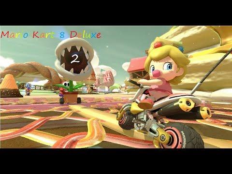 Mario Kart 8 Deluxe part 2  - Battle Food-ale