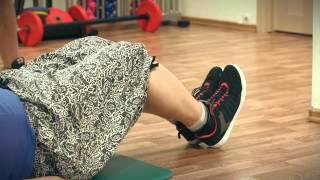 Как похудеть? Упражнения для толстых. №2