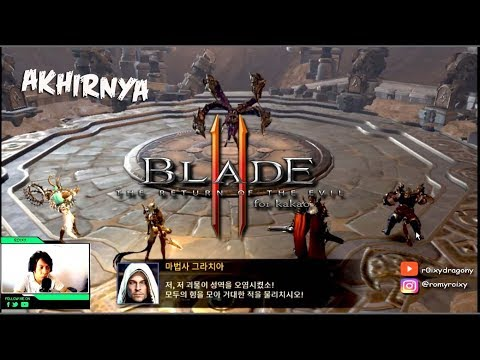 Akhirnya !!! Blade 2 :The Return Of The Evil CBT ( 블레이드2 For Kakao)  Gameplay Android (Bluestacks 3)