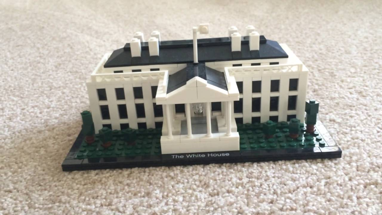 lego architecture white house review - youtube