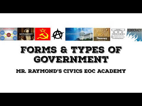 Types & Forms of Government