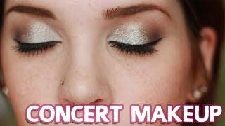 Get Ready w/ Me: Paramore Concert! (Glittery Silver Eye) ☆ beautymunson