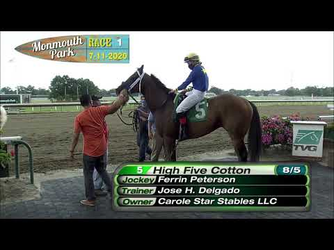 video thumbnail for MONMOUTH PARK 07-11-20 RACE 1