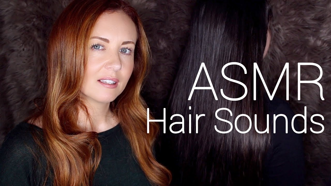 Hair Sounds for Sleep 🌟 ASMR 🌟Mic on Brush - YouTube