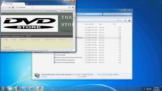 Setting up intranet site using IIS