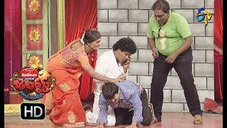 Rocket Raghava Performance | Jabardasth |  28th December 2017  | ETV  Telugu