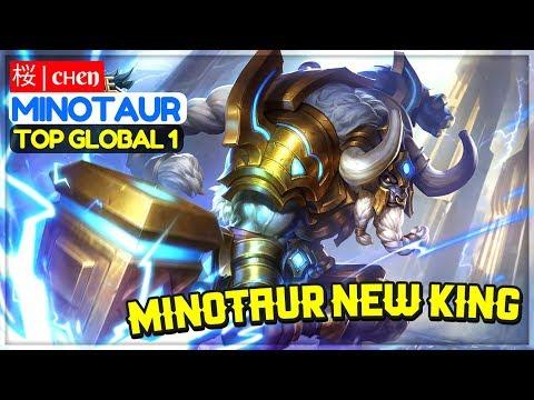 Minotaur New King [ Top Global 1 Minotaur ] 桜 | cнen Minotaur Gameplay And Build
