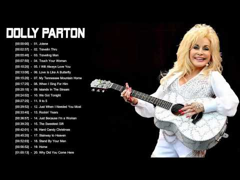 Dolly Parton Greatest Hits  Best Songs Of Dolly Parton Playlist