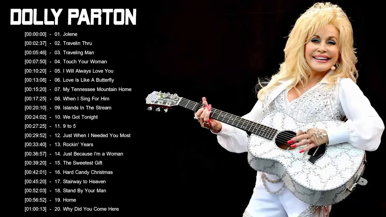 Dolly Parton Greatest Hits - Best Songs Of Dolly Parton ...