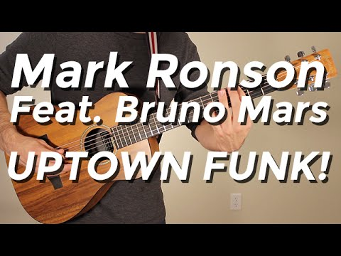 Mark Ronson feat. Bruno Mars - Uptown Funk (Guitar Tutorial) by Shawn Parrotte