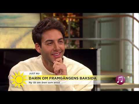 """Darin: """"Jag har inte pratat med någon om ensamheten"""" - Nyhetsmorgon (TV4)"""