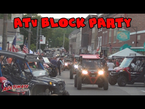 JERICHO ATV FESTIVAL BLOCK PARTY AND WARMING HUT! NEW ENGLAND TRIP PT 8