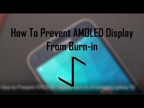 How to Prevent AMOLED Burn-in | 2016
