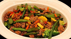 Bodybuilding Cutting Meal: Low-Carb Beef & Vegetable Stir Fry