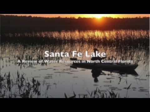 Santa Fe Lake in North Central Florida