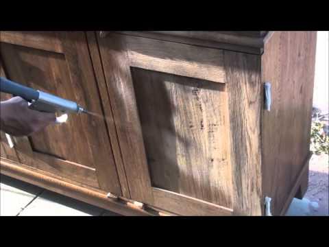 IBIX® straalketel | verwijderen verf en waslagen van meubels / kasten