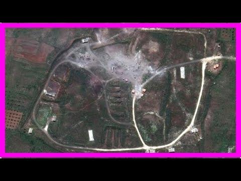 Представлены доказательства успешного ракетного удара по Сирии | TVRu