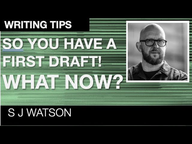 Are you a writer? How to edit your first draft into a killer novel