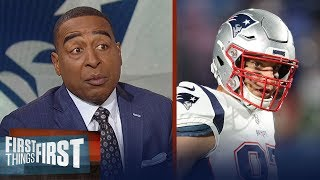Cris Carter on why he's concerned for the Patriots when Gronk returns   NFL   FIRST THINGS FIRST