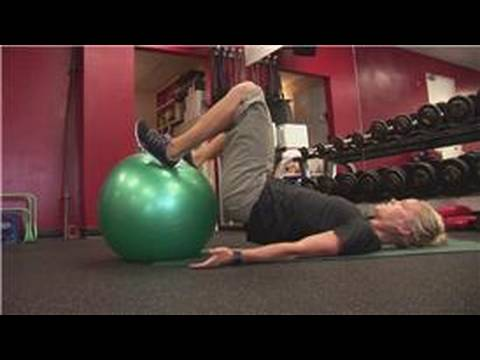Exercise Techniques & Personal Training : Exercises for an Exercise Ball