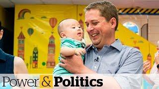 Scheer promises to make EI maternity, parental benefits tax-free | Power & Politics