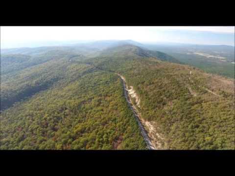 Aerial Oklahoma - Kiamichi Mountain (LeFlore County) 11- 5 -16