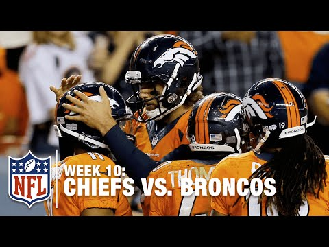 Brock Osweiler Scrambles & Finds Andre Caldwell for a TD! | Chiefs vs. Broncos | NFL