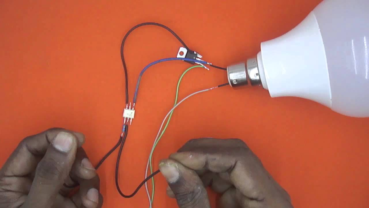 Bt136 How To Use Triac With Opto Isolator Youtube Ac Wiring Diagram