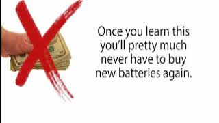 Ez Battery Reconditioning | Never Buy Another Battery Again
