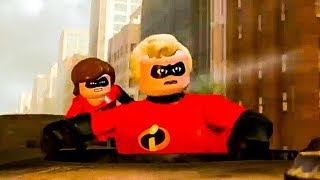 Lego The Incredibles 'Crimewaves' Trailer (2018) Disney Pixar HD