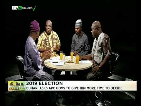 Journalist Hangout 23rd Feb. 2018: Buhari tells APC governors more time to decide on 2019