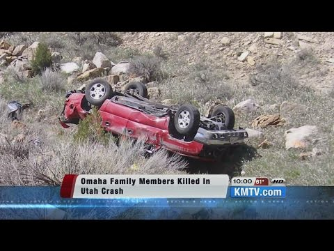 4 Omaha family members killed in Utah car crash