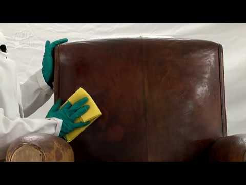 r nover patiner le cuir youtube. Black Bedroom Furniture Sets. Home Design Ideas
