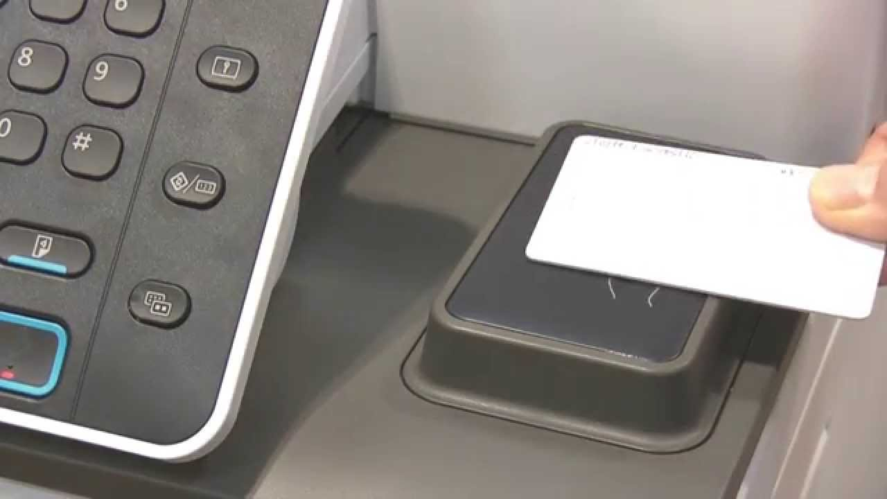 Training | Equitrac PCC Launcher V4 2 - Registering a Card on Ricoh Printer  | Ricoh Wiki