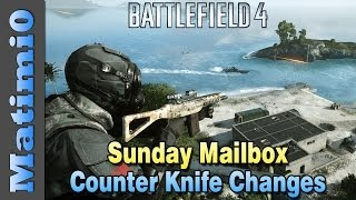 Counter Knife Change & Suppressor Buff - Sunday Mailbox - Battlefield 4(, 2013-12-01T15:00:03.000Z)