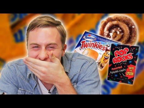 Australians Taste Test American Sweets