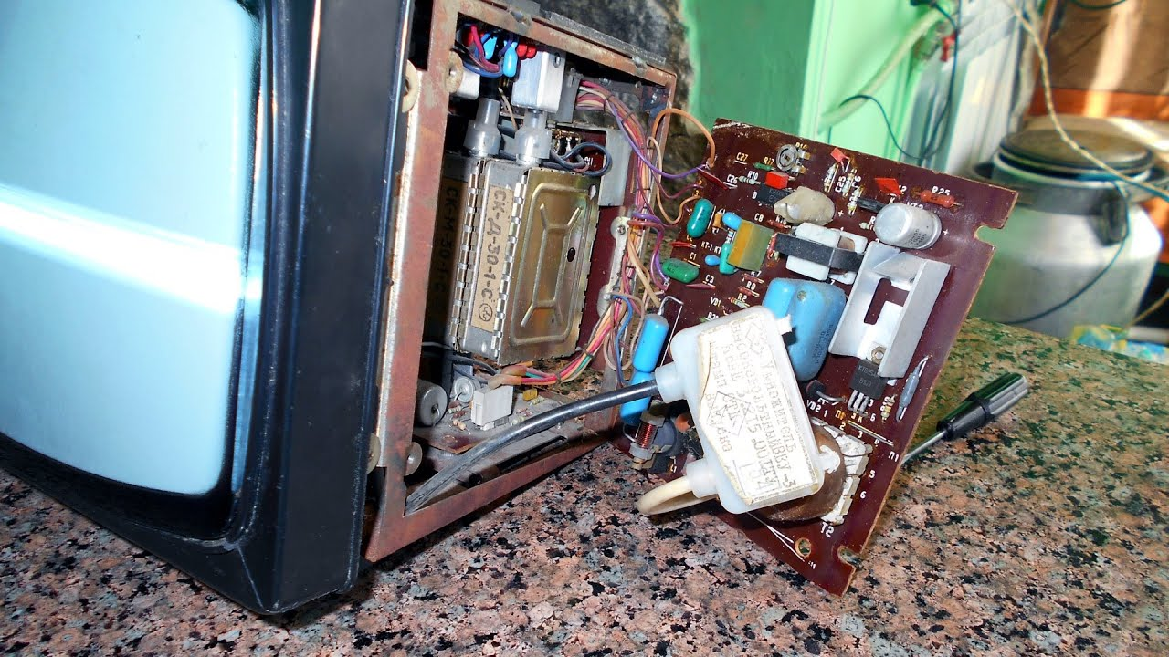 Телевизионный приёмник чёрно-белого изображения ''электроника 23тб.