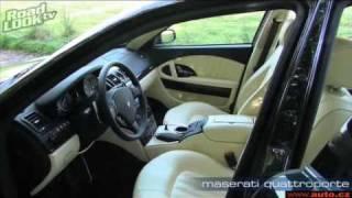 Maserati Quattroporte Road Look Test