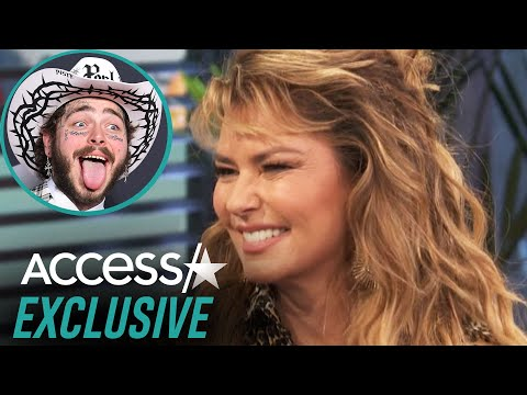 Shania Twain Once Surprised Post Malone Backstage At His Show Before He Made It Big