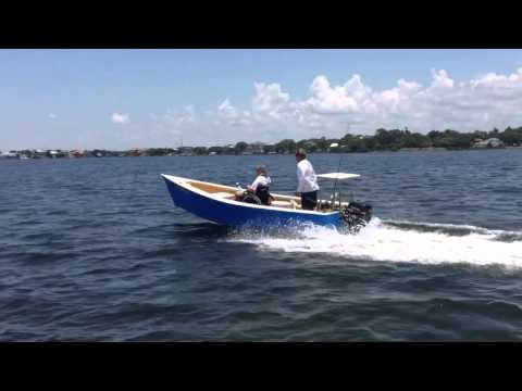Building the Lumberyard Skiff - How it Performs on the Water
