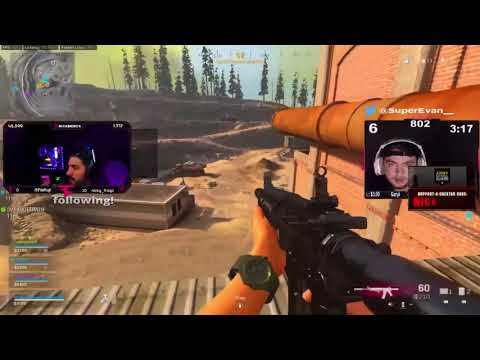 NICKMERCS reacts to TeePee vs EVANS!! THE BEST RIVALRY IN WARZONE!! ** MAD KILLS**$50,000 tournament