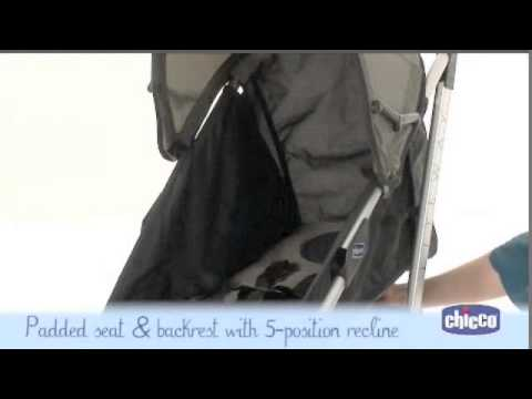 Chicco Lite Way Stroller How To Fold And How To Use Youtube