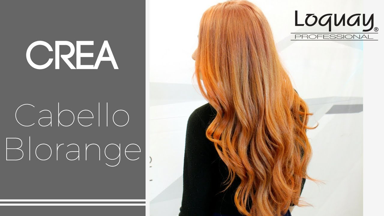 tutorial cabello blorange - youtube