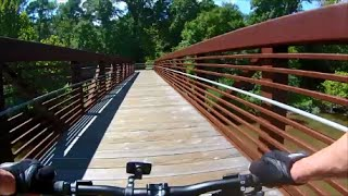 Mountain Biking - Neuse River Trail Raleigh, NC - Anderson Point to Clayton -Part III- Sept. 6, 2014