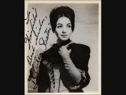 """Teresa Stratas: """"Le roi de Thule"""" & """"Air des Bijous"""" (jewel song) from Faust"""